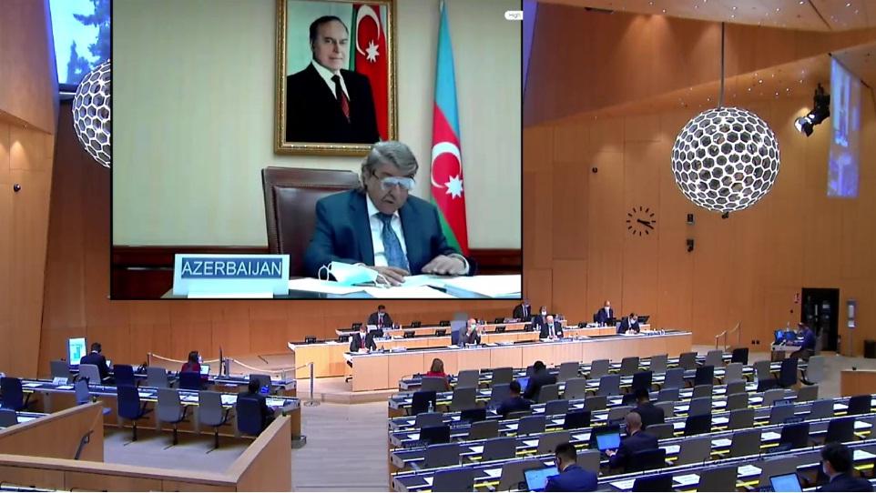 Azərbaycan Respublikasının nümayəndə heyəti Ümumdünya Əqli Mülkiyyət Təşkilatının üzv dövlətlərinin Assambleyalarının 61-ci sessiyasında iştirak edir