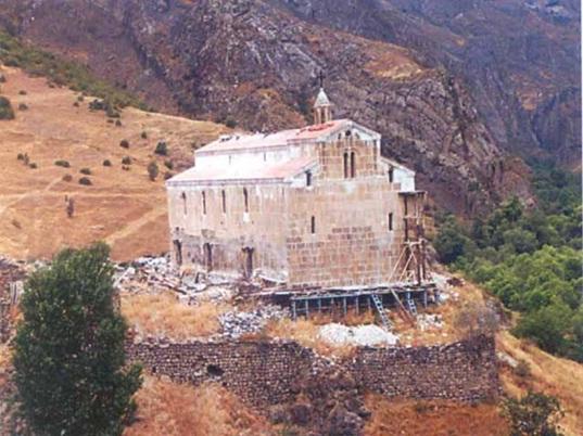 Erməni vandalizminin qurbanı Ağoğlan monastırı