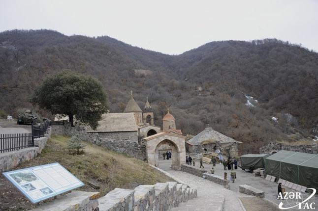 Xudavəng monastır kompleksi