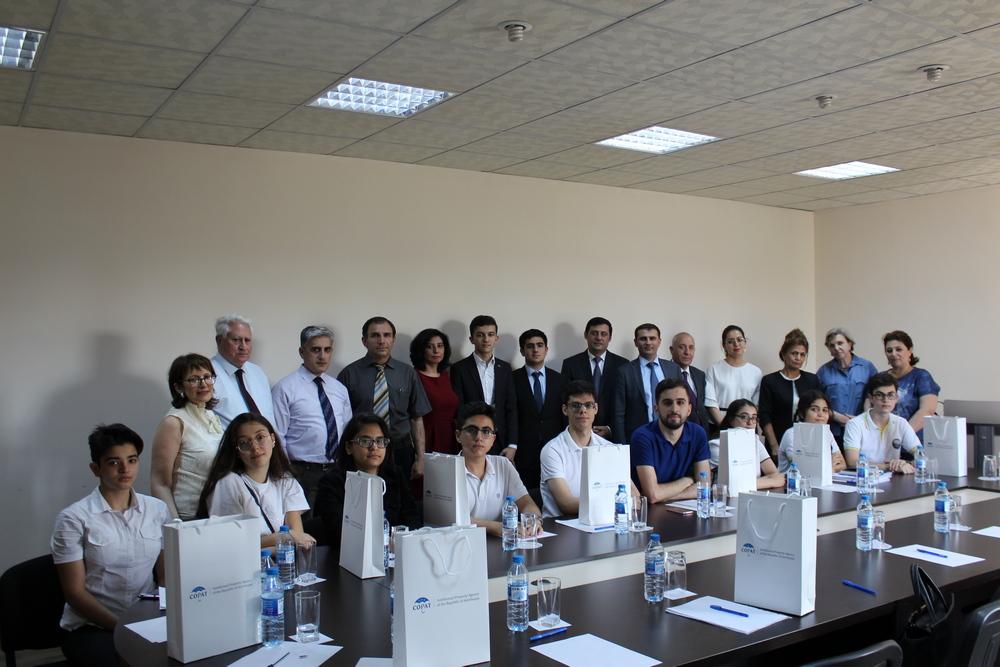 """Azərbaycanlılar """"Gələcəyə baxış"""" Avrasiya Patent Universiadasının qalibi seçilib"""